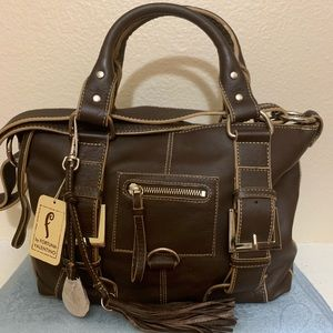 NWT FORTUNA VALENTINO leather purse